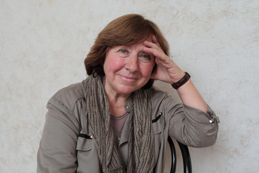 Svetlana Aleksievič a Mantova, l'11 settembre 2015. - Basso Cannarsa, Luzphoto
