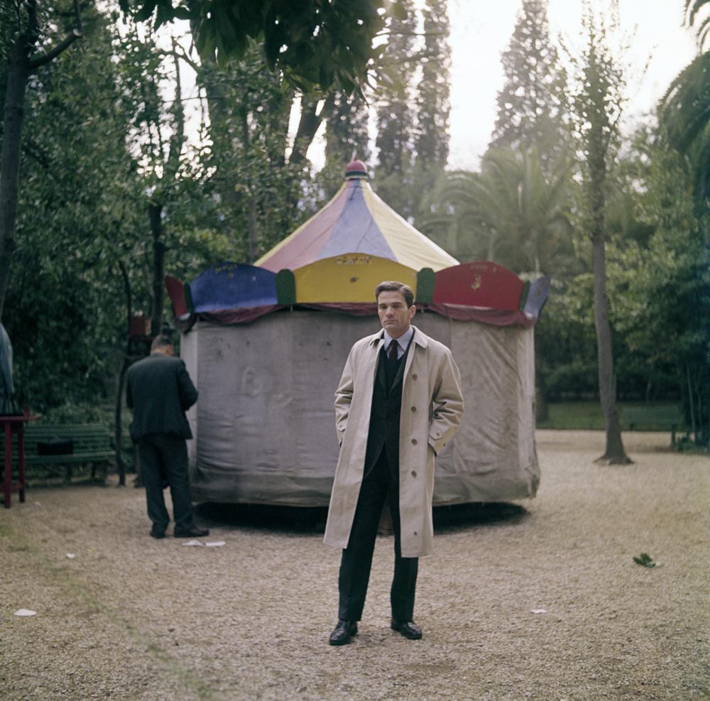 Pier Paolo Pasolini a Roma, nel 1967. - Franco Vitale, Reporters Associati & Archivi/Mondadori Portfolio