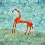 Red Horse Modern Art Painting Stock Illustration Download Image Now Istock