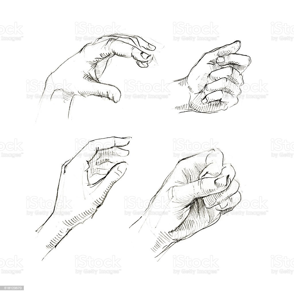 Aesthetic Drawings Hands