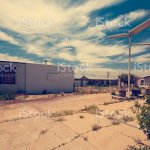 Abandoned Gas Station Along The Route 66 Stock Photo Download Image Now Istock