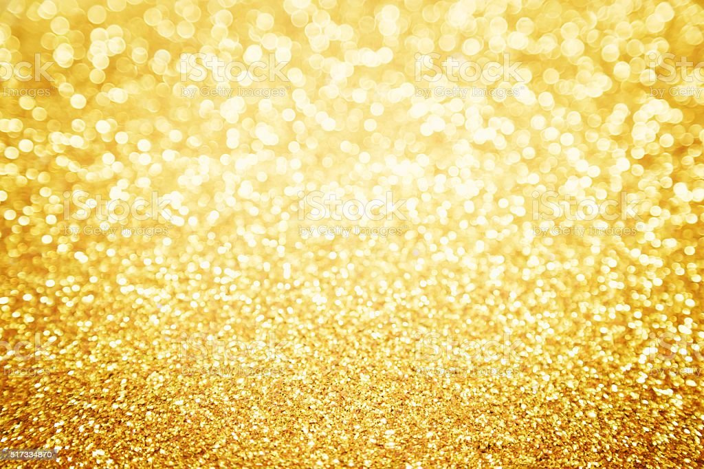 Abstract Gold Glitter For Background Stock Photo & More