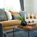 Black Coffee Table With Black Vase And Modern Candle Holder Stock Photo Download Image Now Istock