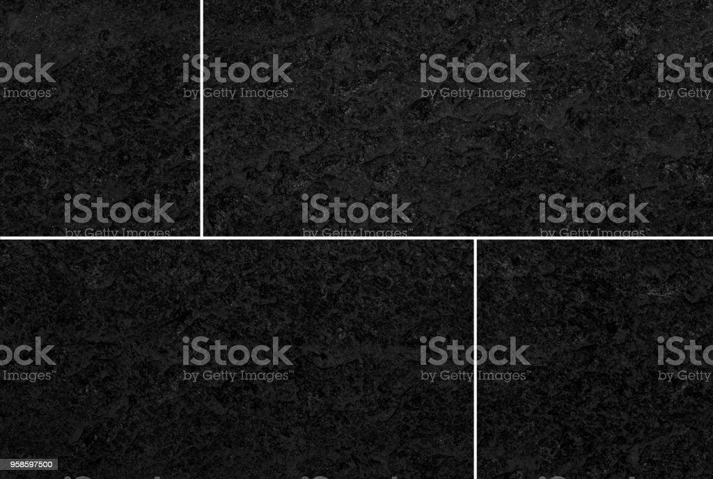 https www istockphoto com de foto schwarze stein fliesen boden hintergrund und struktur gm958597500 261751617