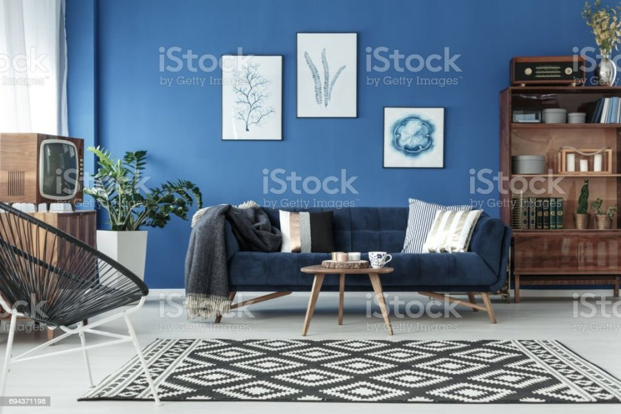 Royalty Free Interior Design Pictures  Images and Stock Photos   iStock Blue up to date lounge stock photo
