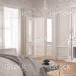 Unscharfe Hintergrund Interior Design Moderne Skandinavische Schlafzimmer Im Klassischen Vintagewohnzimmer Mit Kamin Stockfoto Und Mehr Bilder Von Abstrakt Istock