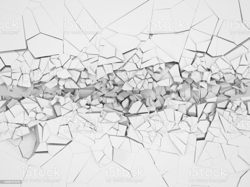 photo libre de droit de mur blanc casse banque d images et plus d images libres de droit de accident de transport istock