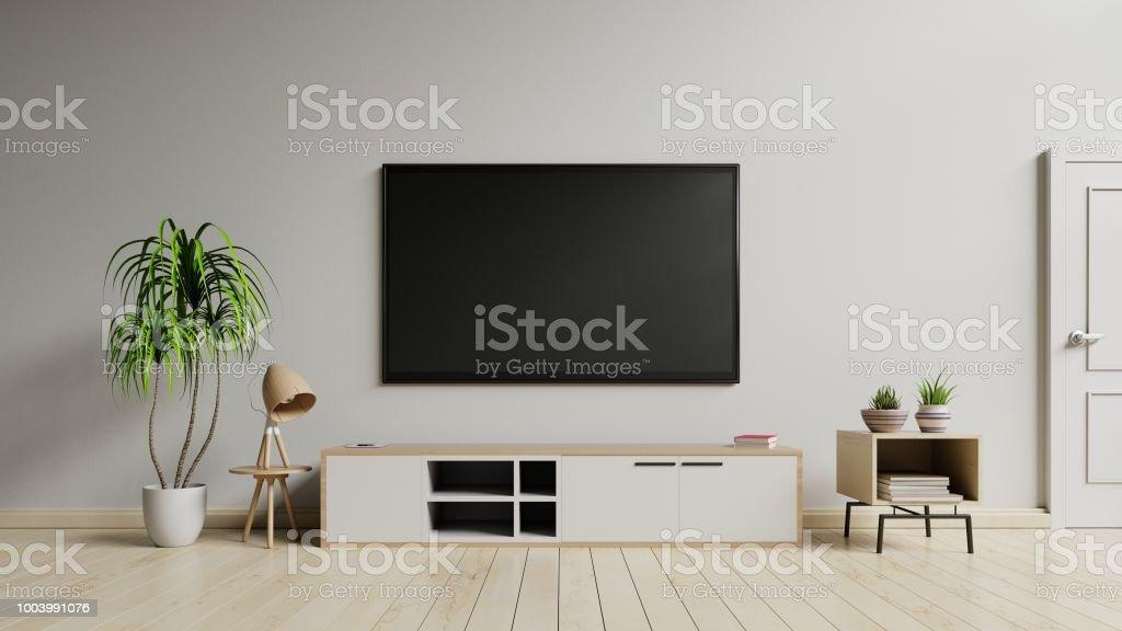 photo libre de droit de meuble tv du cabinet au salon moderne banque d images et plus d images libres de droit de a la mode istock