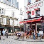 Cafe In Montmartre Paris Stock Photo Download Image Now Istock