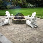 Chairs Around A Firepit Stock Photo Download Image Now Istock