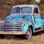 1952 Chevy 3100 Pickup Truck With Patina Rust Stock Photo Download Image Now Istock