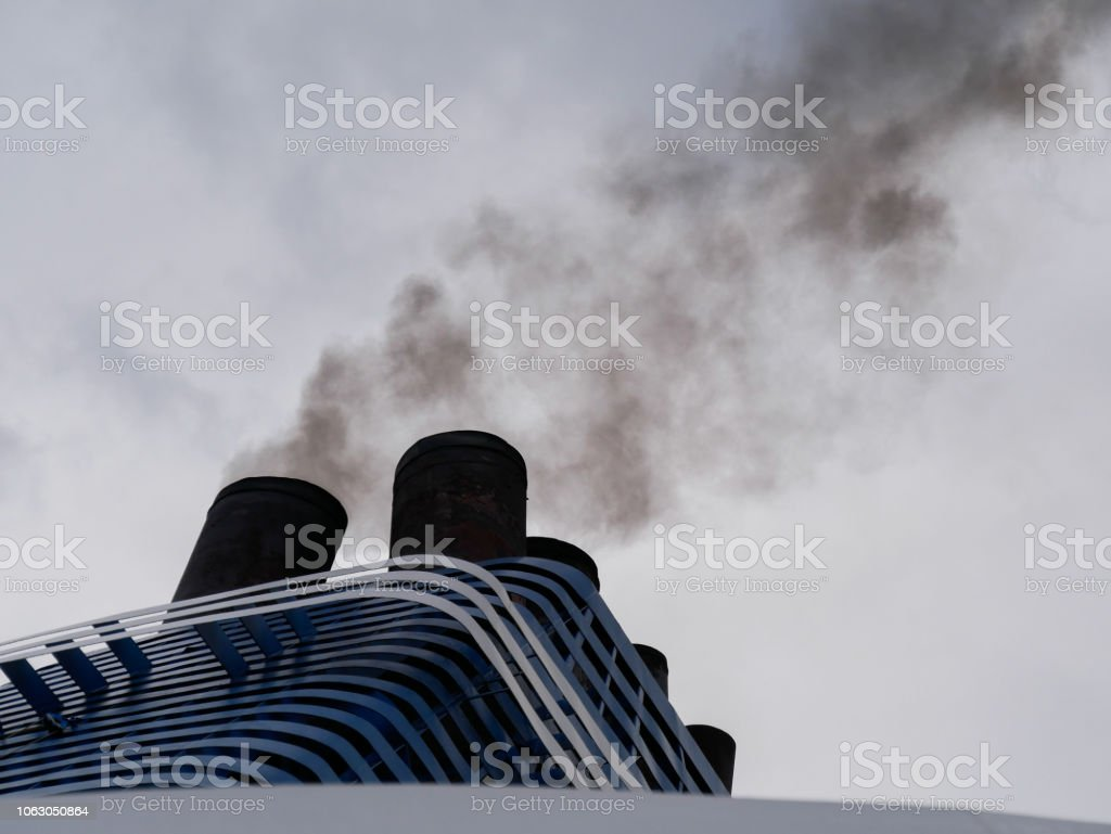 https www istockphoto com photo coal black smoke from the ferry exhaust pipe gm1063050864 284206240