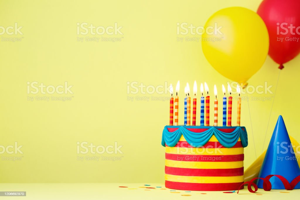 Colorful Birthday Party Background Stock Photo Download Image Now Istock