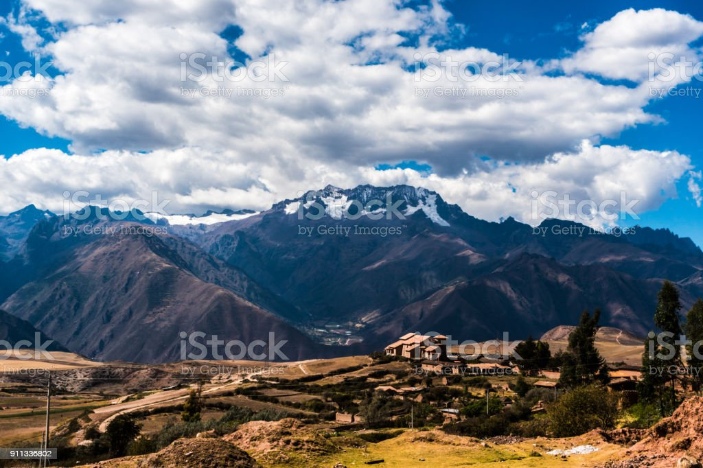 Location The Rainbow Mountains of Vinicunca
