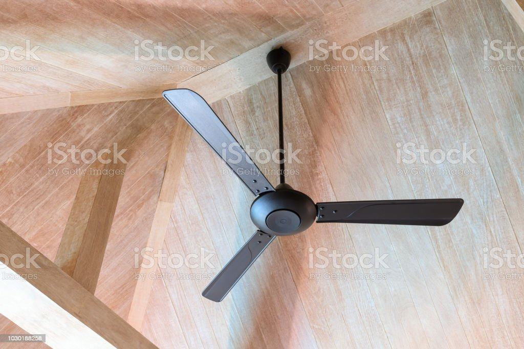 Electric Vintage Ceiling Fan Stock Photo Download Image Now Istock