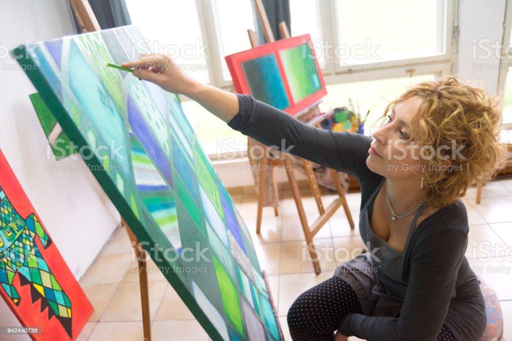 M Massoudi Malerei Paintings Atelier