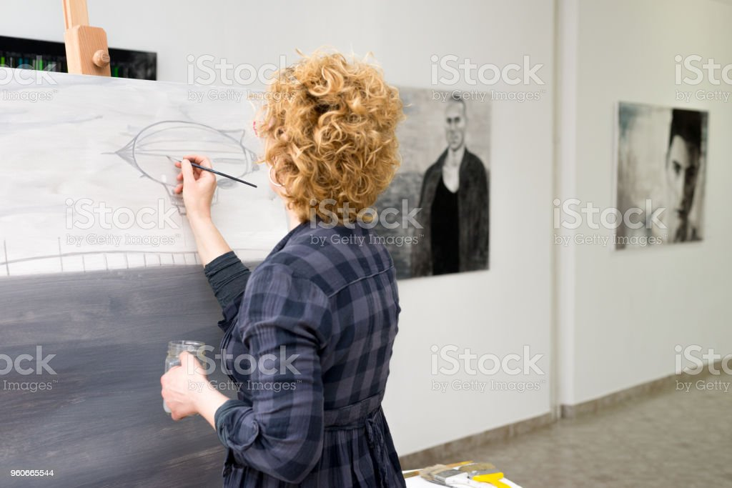 Mareike Felsch Malerei Collage Atelier