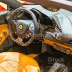 Ferrari 488 Spider Sports Car Interior Stock Photo Download Image Now Istock