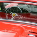 Ferrari Dino 246 Gt Italian Vintage Sports Car Detail Stock Photo Download Image Now Istock