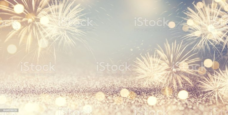 Royalty Free New Years Eve Pictures  Images and Stock Photos   iStock Fireworks and bokeh in New Year eve and space for text  Abstract background  holiday