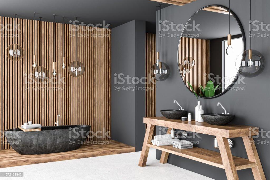 https www istockphoto com fr photo coin salle de bain gris et bois gm1072129442 286907801