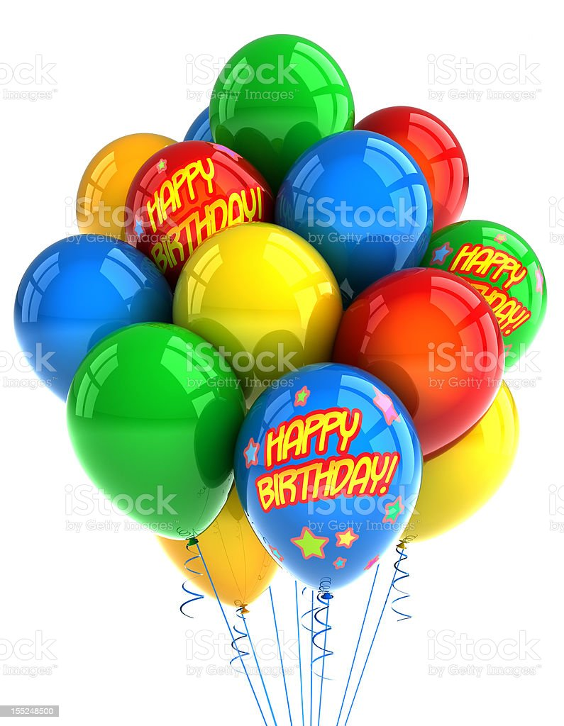 Happy Birthday Balloons Stock Photo Download Image Now Istock