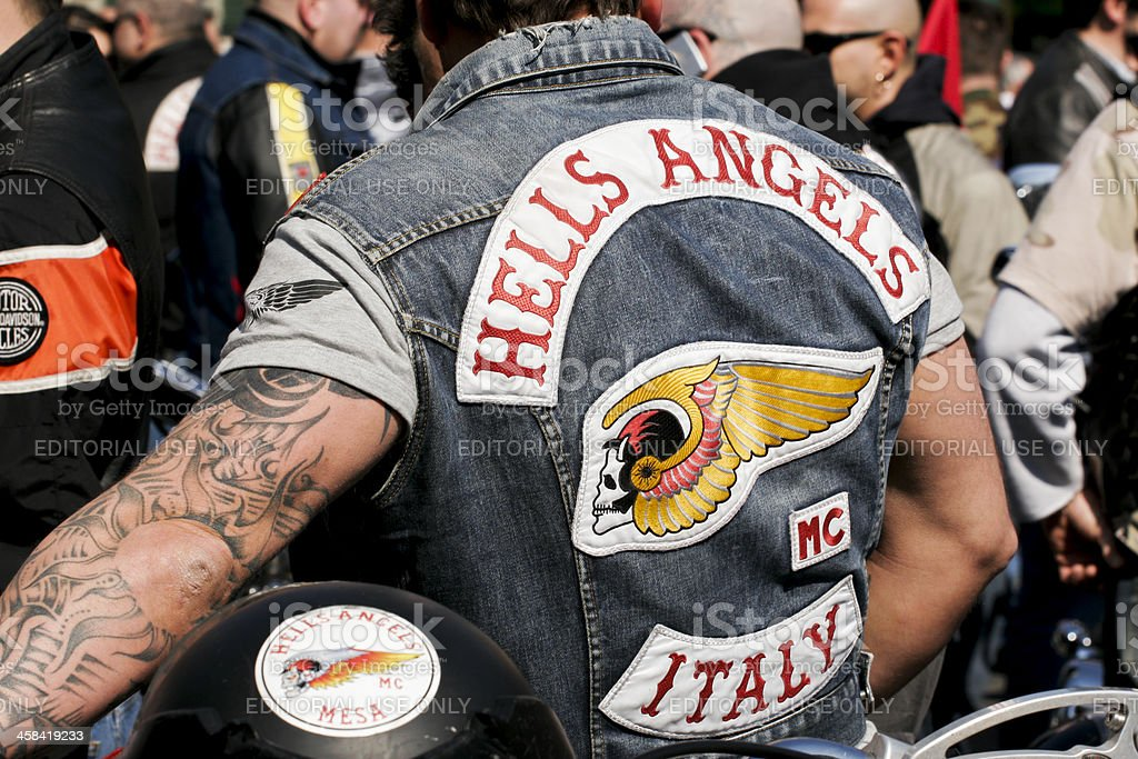 Property Tattoo Hells Angels