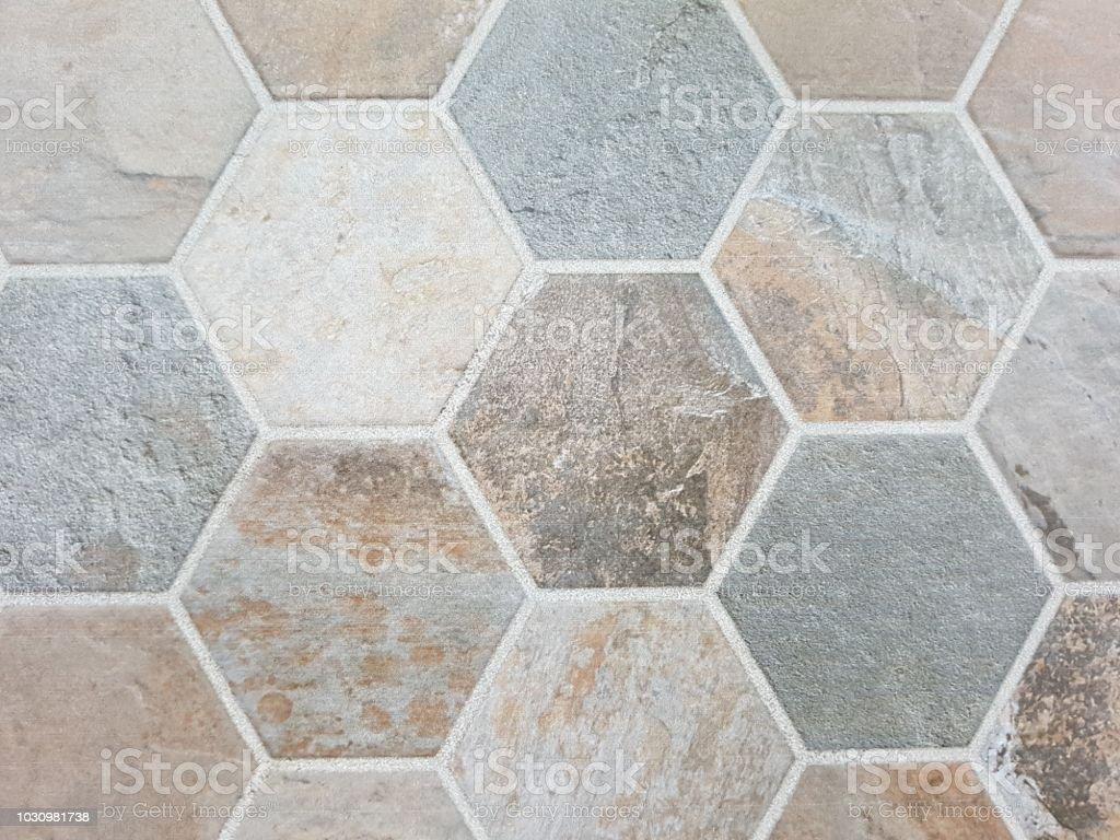 hexagon floor tile stock photo download image now istock
