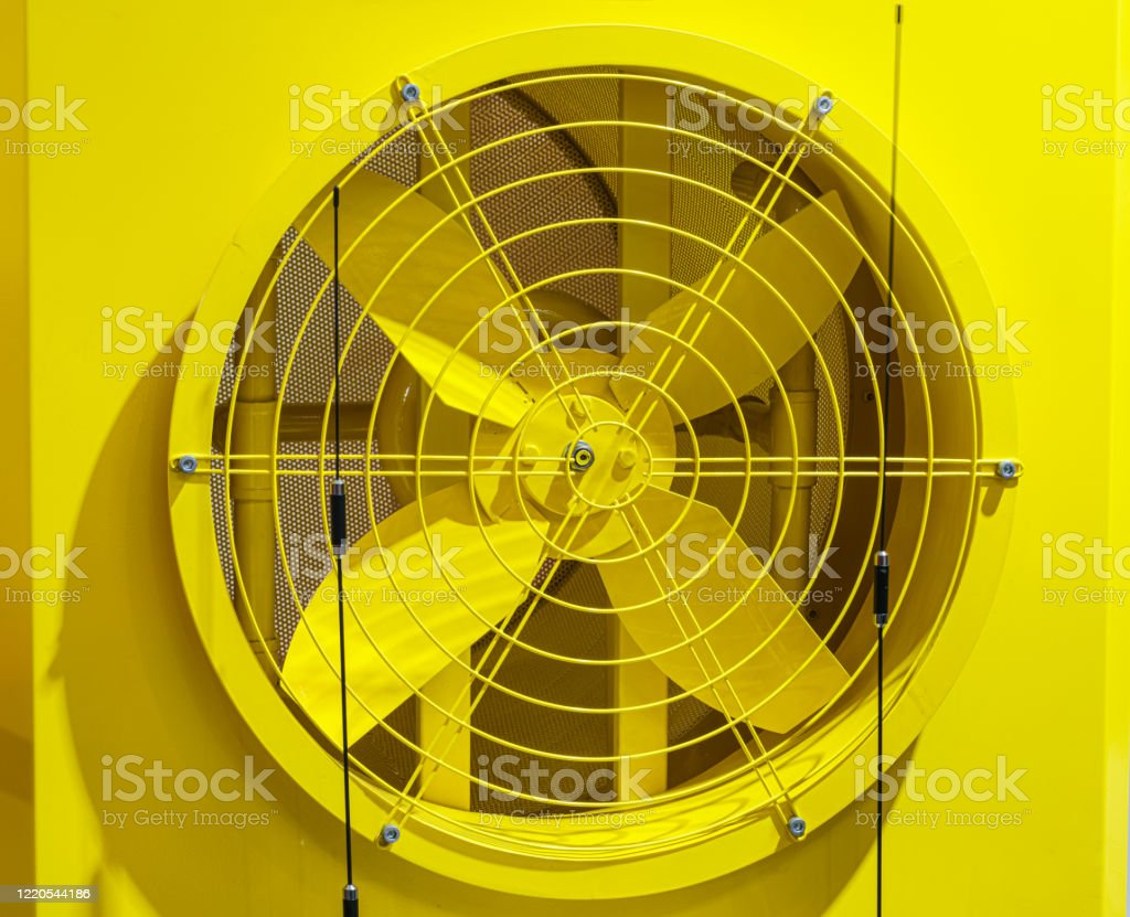 industrial exhaust fan industrial cooling unit grille for heavy duty central air conditioning system fan stock photo download image now istock