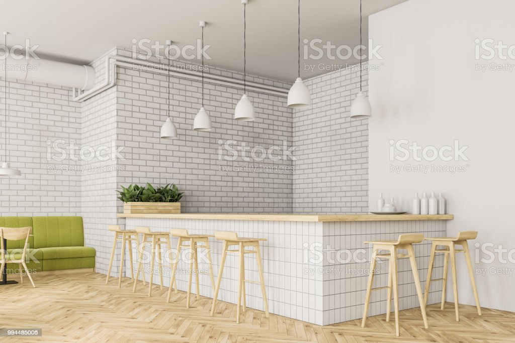 Industrial Style Bar Corner Flower Beds Stock Photo Download Image Now Istock