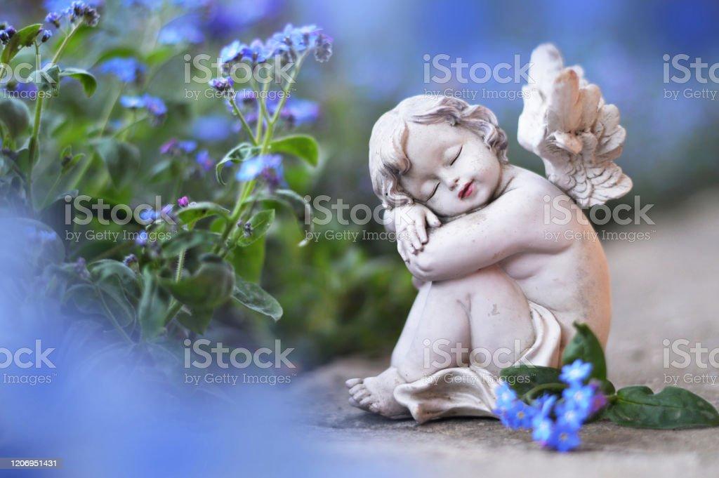 https www istockphoto com fr photo petits anges et fleurs de source gm1206951431 348293411