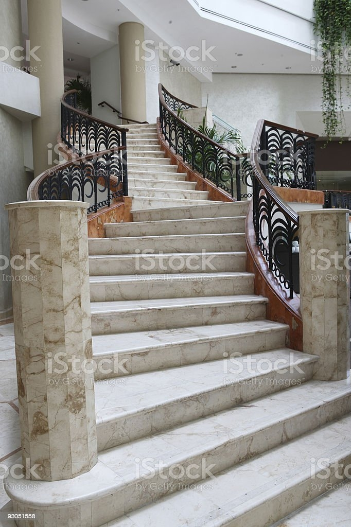 Luxury Stairs Foyer Entrance Modern Home Stock Photo Download | Home Entrance Steps Design | Exterior | Sophisticated | Angled | Bungalow Entrance | Concrete
