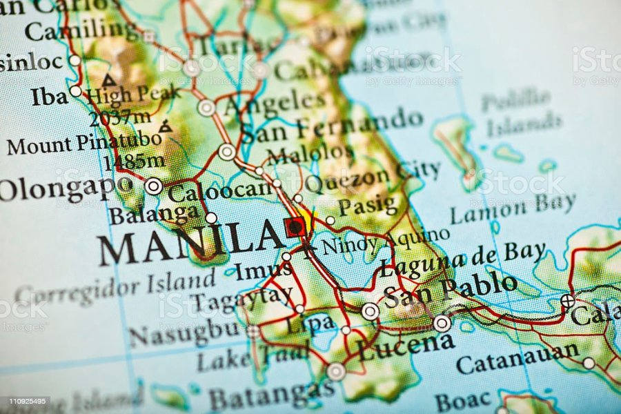Map for manila world maps wallpaper free maps advertisement malvernweather Image collections