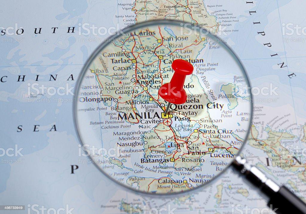 Advertisement world map manila philippines 4K