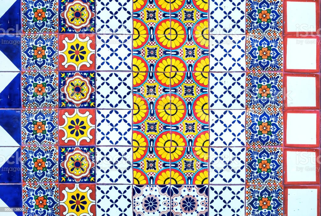 mexican mosaic craft tiles pattern stock photo download image now istock