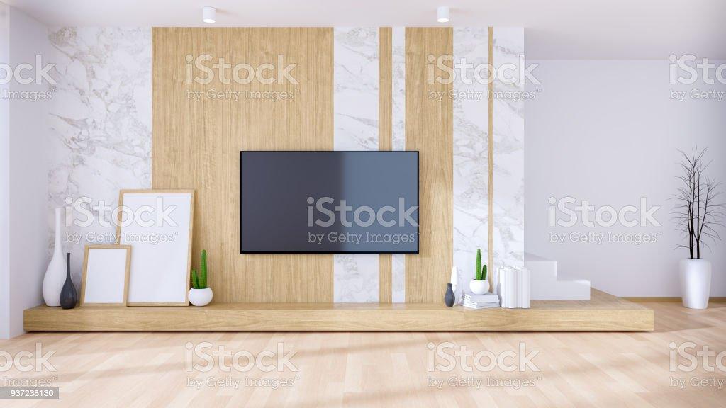 https www istockphoto com fr photo moderne et int c3 a9rieur de luxe de style salon meuble de tv en bois avec la maquette de gm937238136 256369980