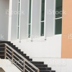 Modern Black Stairs And Metal Handrail Stock Photo Download Image Now Istock