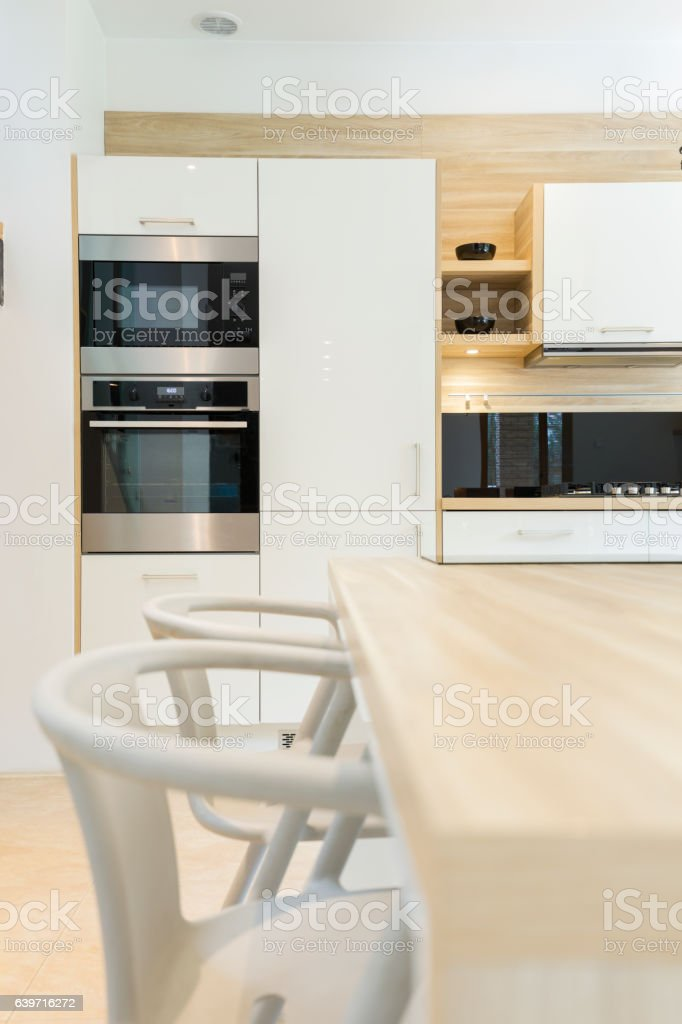 https www istockphoto com photo modern kitchen with built in oven gm639716272 115464169