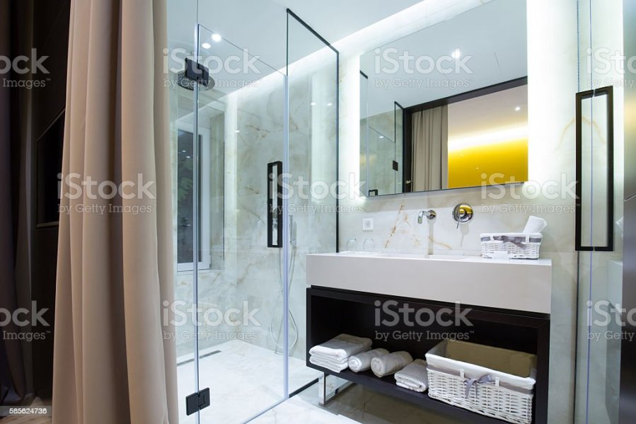 Bathrooms Rich Famous Estate Farimont Nanjing Luxury Hotel Modern Design Classic Interior