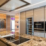 Modern Marble Kitchen With Island Stock Photo Download Image Now Istock