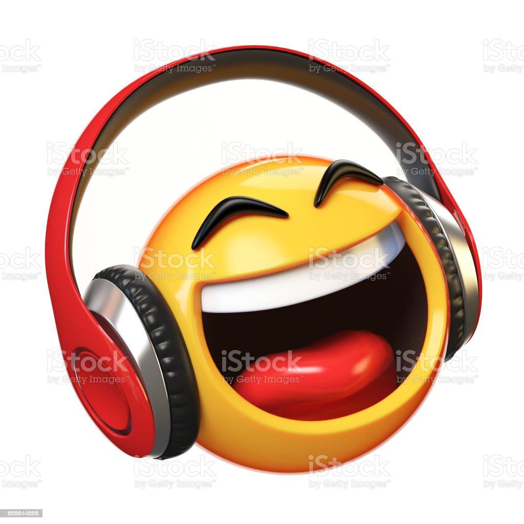 Circle Face Headphones