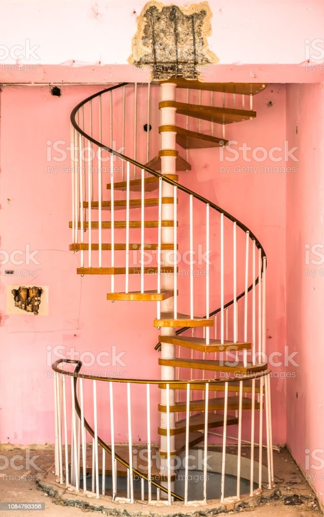 Old Spiral Staircase Stock Photo Download Image Now Istock | Spiral Staircase Wooden Steps | 2 Floor | Traditional | Enclosed | Kid Friendly | Solid