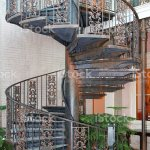 Outdoor Spiral Staircase Stock Photo Download Image Now Istock