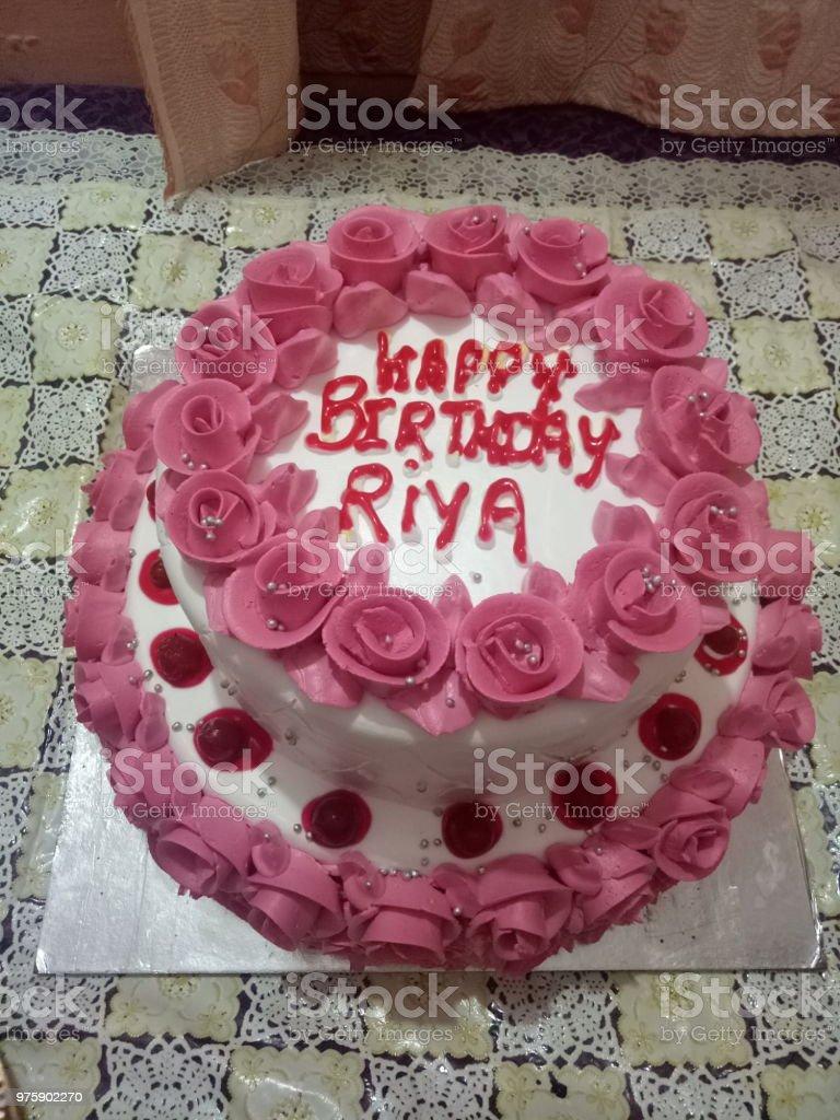 Pink Birthday Cake Stock Photo Download Image Now Istock