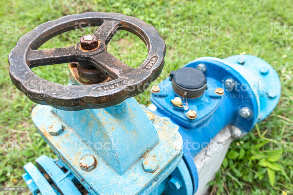https www istockphoto com photo a pump station delivers water for agricultural watering water pumping station valve gm1170310195 323796659