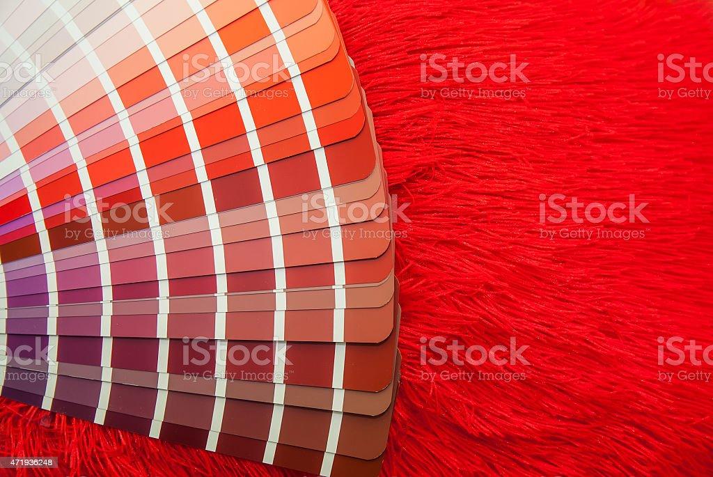 Photo Libre De Droit De Guide De Palette De Couleur Rouge Isole Pour Imprimer Lindustrie Banque D Images Et Plus D Images Libres De Droit De 2015 Istock
