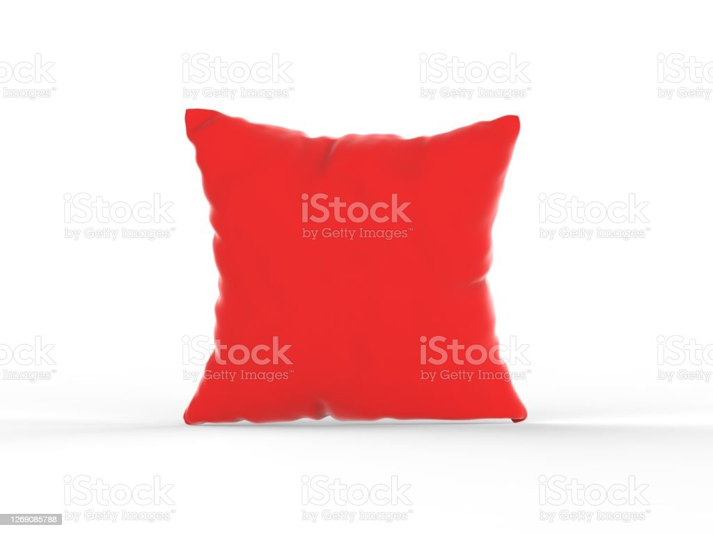 https www istockphoto com photo red neck pillow cover cushion cover mockup template on isolated white background 3d gm1269085788 372579200