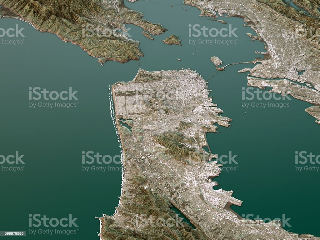 San Francisco maps Advertisement map san