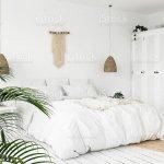 Scandiboho Style Bedroom Stock Photo Download Image Now Istock
