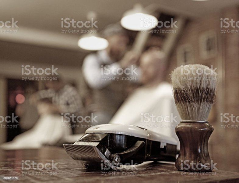 Royalty Free Barber Shop Pictures  Images and Stock Photos   iStock Shaving equipment at a retro barbershop stock photo